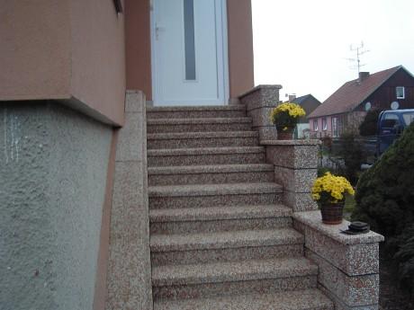 Venkovní schody levně