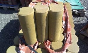 Palisáda písková žlutá