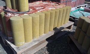 Palisáda písková žlutá kruhová pr.11,5cm